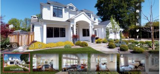 Adding interactive virtual tours/3D models to property listings